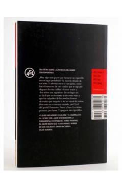 Contracubierta de LA NIÑA Y EL CIGARRILLO (Benoit Duteurtre) 451 Editores 2010