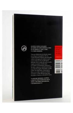 Contracubierta de NO ME ENTERÉ DE NADA (Diego De Silva) 451 Editores 2008