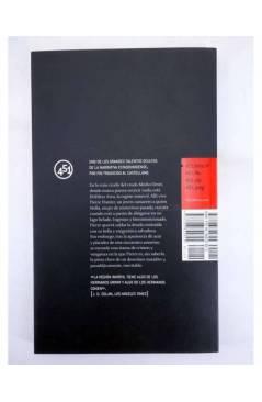 Contracubierta de LA REGIÓN INMÓVIL (Tom Drury) 451 Editores 2009
