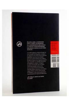 Contracubierta de SERÁS VAPOR ANTES QUE LLUVIA (Luis Rodríguez Rivera) 451 Editores 2007