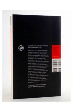 Contracubierta de THEOPHILUS NORTH (Thornton Wilder) 451 Editores 2009