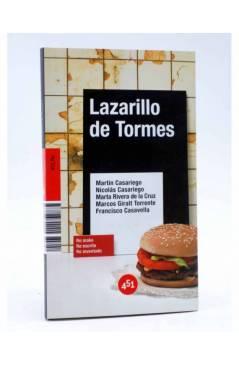 Cubierta de LAZARILLO DE TORMES (Vv.Aa.) 451 Editores 2007
