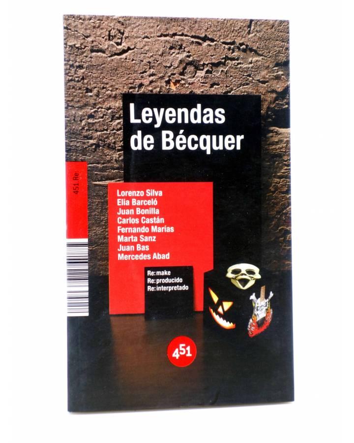 Cubierta de LEYENDAS DE BÉCQUER (Vv.Aa.) 451 Editores 2007