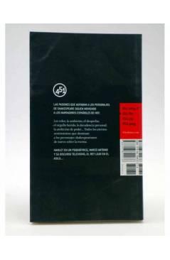 Contracubierta de TRAGEDIAS DE SHAKESPEARE (Vv.Aa.) 451 Editores 2007