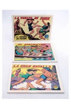 Muestra 1 de PURK EL HOMBRE DE PIEDRA TOMOS 1 A 12. NÚMEROS 1 A 96. FACSIMIL (Manuel Gago) JLA 1986