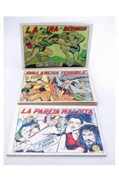 Muestra 2 de PURK EL HOMBRE DE PIEDRA TOMOS 1 A 12. NÚMEROS 1 A 96. FACSIMIL (Manuel Gago) JLA 1986