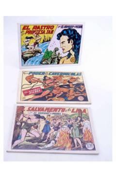 Muestra 3 de PURK EL HOMBRE DE PIEDRA TOMOS 1 A 12. NÚMEROS 1 A 96. FACSIMIL (Manuel Gago) JLA 1986