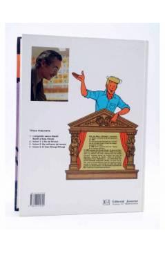 Contracubierta de BARELLI A NUSA PENIDA VOLUM 3. EL GRAN BHOUGI-WHOUGI (Bob De Moor) Joventud 1991
