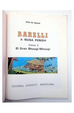 Muestra 1 de BARELLI A NUSA PENIDA VOLUM 3. EL GRAN BHOUGI-WHOUGI (Bob De Moor) Joventud 1991