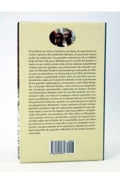 Contracubierta de TIERRA INCÓGNITA. LUNA LLENA EN MEDOUNÉ (Juan Luís Oliva De Suelves) Edhasa 2008
