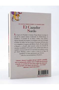 Contracubierta de EL CAZADOR SORDO. TENIENTE KRAMER Y SARGENTO ZONDI (James Mcclure) Reino de Cordelia 2013