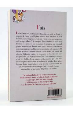Contracubierta de TAIS (Anatole France / Paul Albert Laurens) Reino de Cordelia 2013