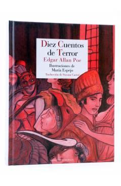 Muestra 2 de DIEZ CUENTOS DE TERROR (Edgar Allan Poe / María Espejo) Reino de Cordelia 2017
