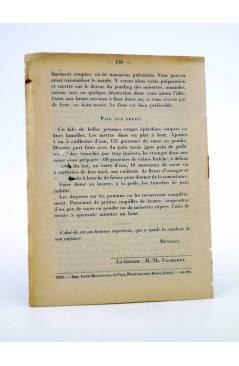 Contracubierta de REVISTA LA REVUE DES ENFANTS. SUPPLEMENT A LA REVUE MAZDAZNAN. DÉCEMBRE (Vvaa) Mazdaznan 1932