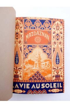 Cubierta de REVISTA MAZDAZNAN LA VIE AU SOLEIL. AÑO 1932 COMPLETO (Vvaa) Mazdaznan 1932. ZOROASTRISMO