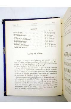 Muestra 2 de REVISTA MAZDAZNAN LA VIE AU SOLEIL. AÑO 1932 COMPLETO (Vvaa) Mazdaznan 1932. ZOROASTRISMO