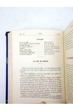 Muestra 4 de REVISTA MAZDAZNAN LA VIE AU SOLEIL. AÑO 1932 COMPLETO (Vvaa) Mazdaznan 1932. ZOROASTRISMO