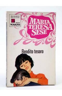 Cubierta de COLECCIÓN ROSAURA 1125. BENDITO TESORO (María Teresa Sesé) Bruguera Bolsilibros 1971
