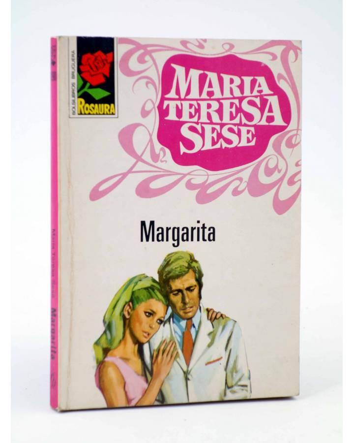Cubierta de COLECCIÓN ROSAURA 1190. MARGARITA (María Teresa Sesé) Bruguera Bolsilibros 1972