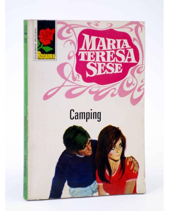 Cubierta de COLECCIÓN ROSAURA 1191. CAMPING (María Teresa Sesé) Bruguera Bolsilibros 1972