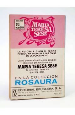 Contracubierta de COLECCIÓN AMAPOLA 995. SIEMPRE TE AMÉ (María Teresa Sesé) Bruguera Bolsilibros 1971