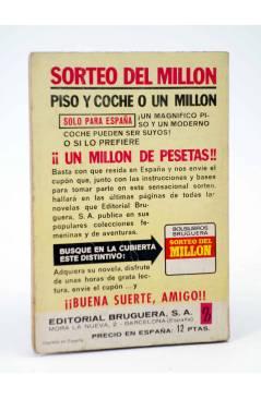 Contracubierta de COLECCIÓN AMAPOLA 1042. SIN TI NO PODRÍA VIVIR (María Teresa Sesé) Bruguera Bolsilibros 1973