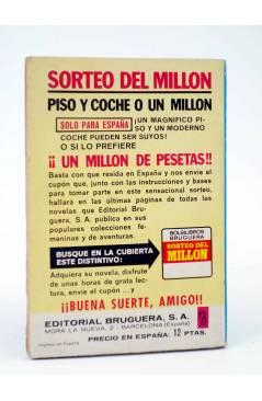 Contracubierta de COLECCIÓN AMAPOLA 1043. MI NOMBRE EN TUS LABIOS (María Teresa Sesé) Bruguera Bolsilibros 1973