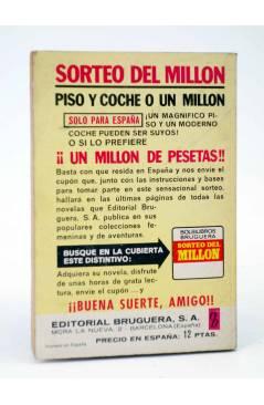 Contracubierta de COLECCIÓN AMAPOLA 1047. MI NUEVA PASIÓN (María Teresa Sesé) Bruguera Bolsilibros 1973