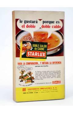Contracubierta de COLECCIÓN KATRINA 69. LA VERDADERA FELICIDAD (Isabel Salueña) Bruguera Bolsilibros 1968