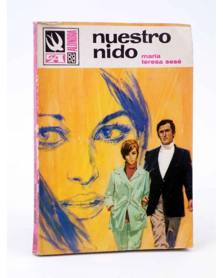 Cubierta de COLECCIÓN ALONDRA 851. NUESTRO NIDO (María Teresa Sesé) Bruguera Bolsilibros 1969