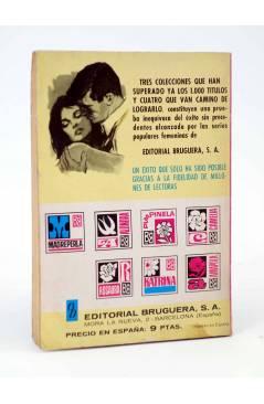 Contracubierta de COLECCIÓN ALONDRA 851. NUESTRO NIDO (María Teresa Sesé) Bruguera Bolsilibros 1969