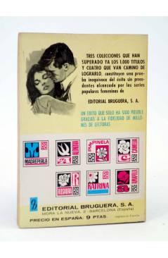 Contracubierta de COLECCIÓN MADREPERLA 1096. SU DESTINO ESTABA ESCRITO (María Teresa Sesé) Bruguera Bolsilibros 1969