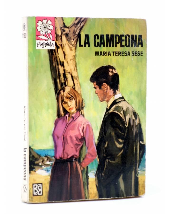 Cubierta de COLECCIÓN PIMPINELA 1130. LA CAMPEONA (María Teresa Sesé) Bruguera Bolsilibros 1968