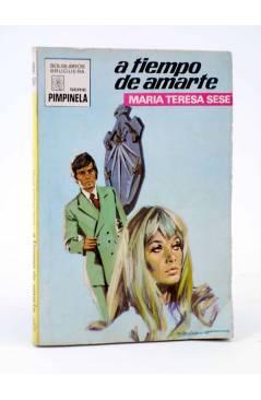 Cubierta de COLECCIÓN PIMPINELA 1267. A TIEMPO DE AMARTE (María Teresa Sesé) Bruguera Bolsilibros 1971