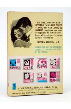 Contracubierta de COLECCIÓN PIMPINELA 1267. A TIEMPO DE AMARTE (María Teresa Sesé) Bruguera Bolsilibros 1971