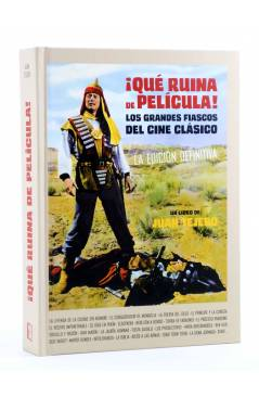 Cubierta de ¡QUÉ RUINA DE PELICULA! LOS GRANDES FRACASOS DEL CINE CLASICO. EDICIÓN DEFINITIVA (Juan Tejero) Bookland 201