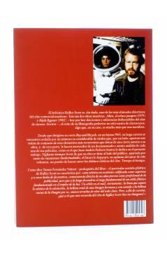 Contracubierta de RIDLEY SCOTT: EL IMPERIO DE LA LUZ (Juan A. Pedrero Santos) T&B 2012