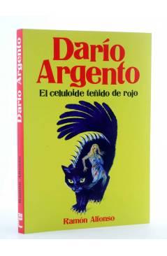 Cubierta de DARÍO ARGENTO: EL CELULOIDE TEÑIDO DE ROJO (Ramón Alfonso) T&B 2014