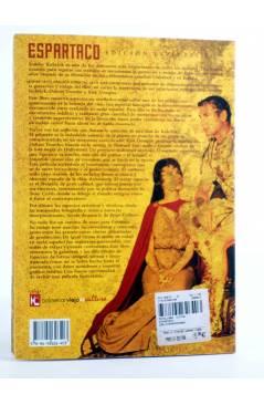 Contracubierta de ESPARTACO EDICIÓ ESPACIAL 50 TH (Victor Matellano Ed.) T&B 2009