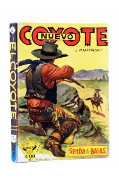 Cubierta de EL COYOTE 134. NUEVO COYOTE 4: SENDA DE BALAS (José Mallorquí) Cliper 1951