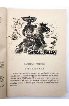 Muestra 1 de EL COYOTE 134. NUEVO COYOTE 4: SENDA DE BALAS (José Mallorquí) Cliper 1951