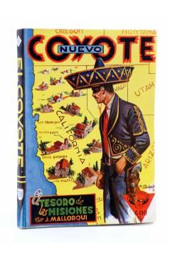 Cubierta de EL COYOTE 138. NUEVO COYOTE 8: EL TESORO DE LAS MISIONES (José Mallorquí) Cliper 1951