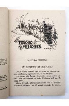 Muestra 1 de EL COYOTE 138. NUEVO COYOTE 8: EL TESORO DE LAS MISIONES (José Mallorquí) Cliper 1951