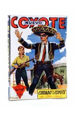 Cubierta de EL COYOTE 140. NUEVO COYOTE 10: CUIDADO CON EL COYOTE (José Mallorquí) Cliper 1951