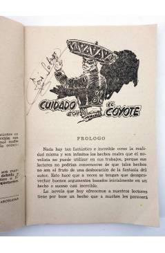 Muestra 1 de EL COYOTE 140. NUEVO COYOTE 10: CUIDADO CON EL COYOTE (José Mallorquí) Cliper 1951