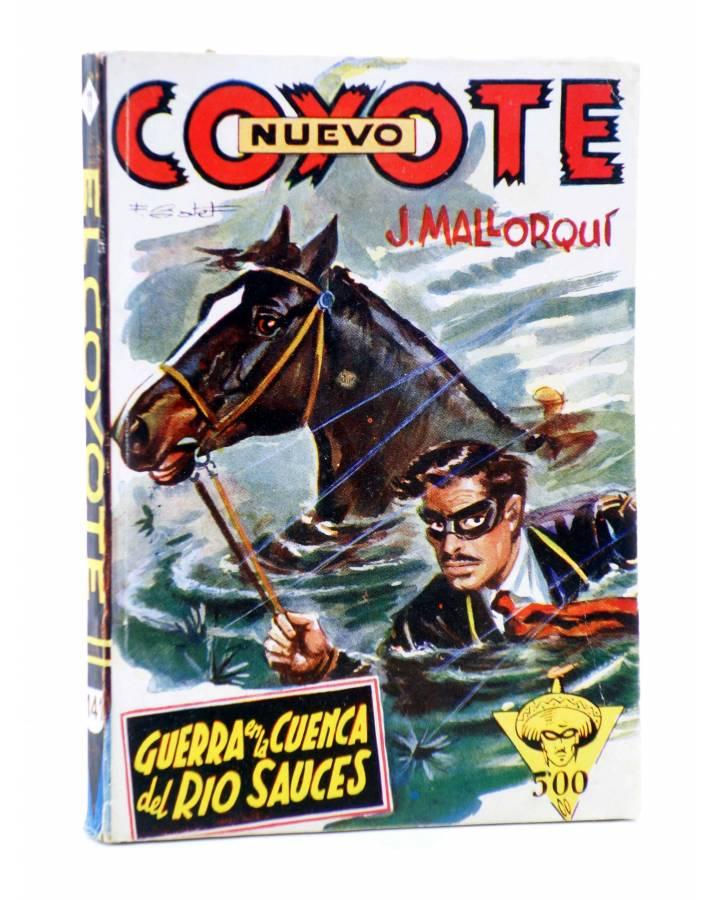 Cubierta de EL COYOTE 141. NUEVO COYOTE 11: GUERRA EN LA CUENCA DEL RÍO SAUCES (José Mallorquí) Cliper 1951
