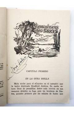 Muestra 1 de EL COYOTE 141. NUEVO COYOTE 11: GUERRA EN LA CUENCA DEL RÍO SAUCES (José Mallorquí) Cliper 1951