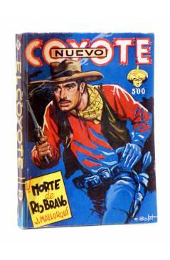 Cubierta de EL COYOTE 143. NUEVO COYOTE 13: AL NORTE DE RÍO BRAVO (José Mallorquí) Cliper 1951