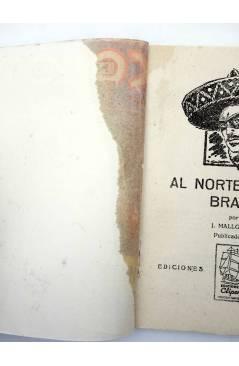Muestra 2 de EL COYOTE 143. NUEVO COYOTE 13: AL NORTE DE RÍO BRAVO (José Mallorquí) Cliper 1951