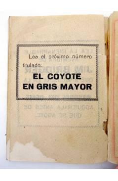 Muestra 4 de EL COYOTE 143. NUEVO COYOTE 13: AL NORTE DE RÍO BRAVO (José Mallorquí) Cliper 1951
